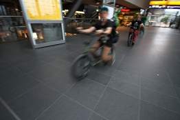 Berlin Hauptbahnhof, Berlin, Bike