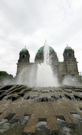 Berliner Dom, fountain, Berlin Mitte