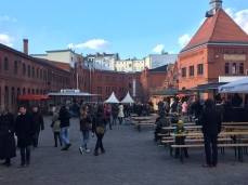 Kulturbrauerei, spring, Berlin, Easter, fire, Prenzlauer Berg