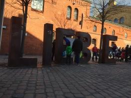 love, Liebe, Kulturbrauerei, sunny day, spring, Berlin, fire, Easter