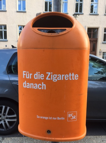 Berlin, litter bins, recycling, garbage, city, waste management
