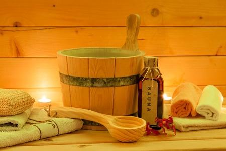 Wellness, sauna