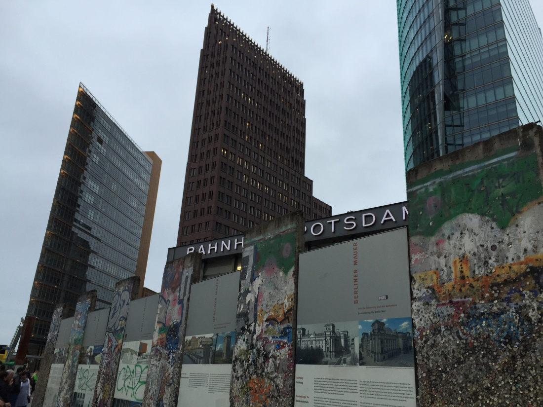 berlin, Potsdamer platz, Berlin wall
